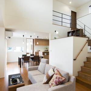 廊下も階段もリビング空間。家族の「欲しい!」がたくさん詰まった家