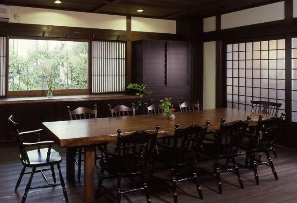 富山_木の家_ダイニング施工事例