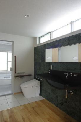 SUKENO 棚屋の家 サニタリー