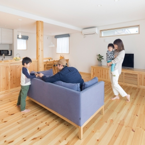 家族それぞれが住み心地を実感できるオーダーメイドの家づくり