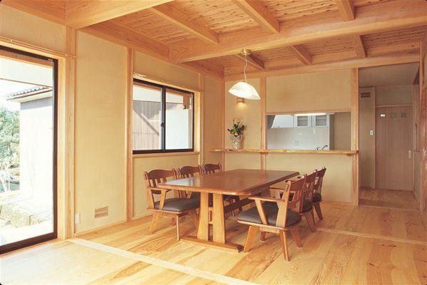 ダイニング 富山市木の家 北岡工務店