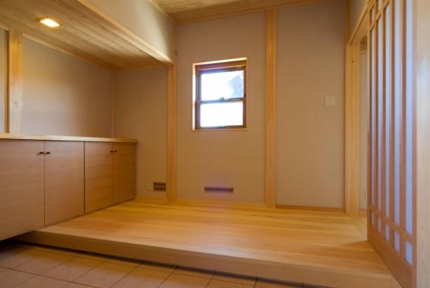 トイレ洗面所 富山木の家 北岡工務店