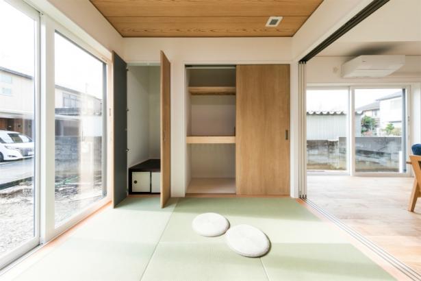 居心地も収納もゆとりの38坪 ダブル断熱の家 畳コーナー