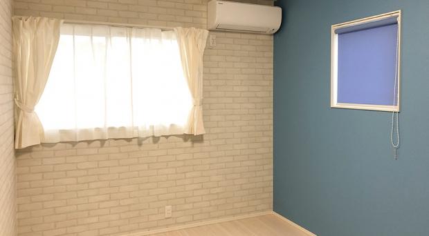 個々の部屋にお気に入りの色や柄