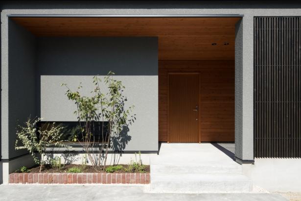 富山県新築住宅デザイン住宅高性能住宅高断熱高気密赤い建設