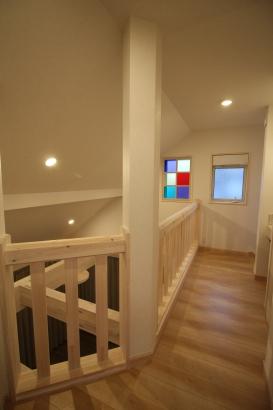 2階吹抜けホール