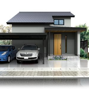 涼温な家「住み心地体感ハウス」コンフォートヒルズ開モデル