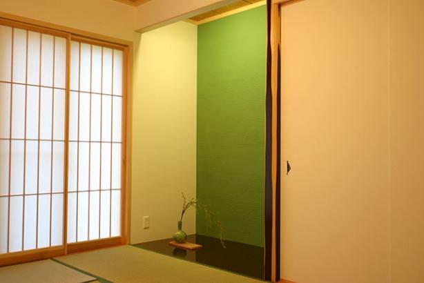 WB工法で自然呼吸の家 和室