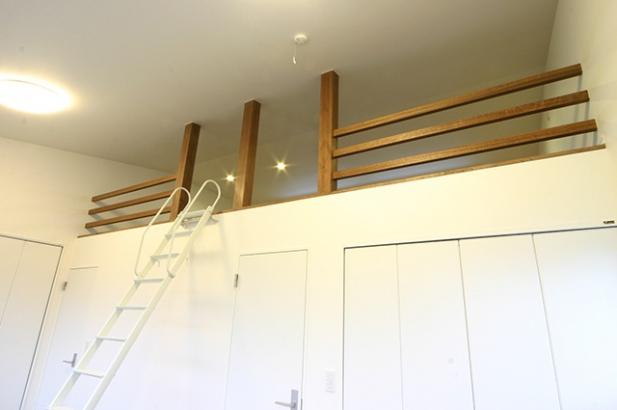 自然素材の家 子供室
