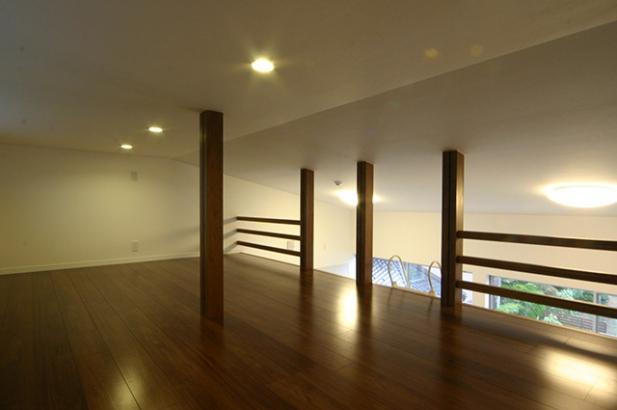 自然素材の家 ロフト